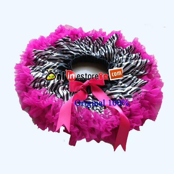 Wholesale zebra print grils skirt,petticoat dress,baby skirts,girl pettiskirt,knee length skirts<br><br>Aliexpress