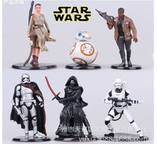 Buy 2016 Star Wars 7 figure, NEW 6pcs/set Star Wars 7: Force Awakens Action Figures Building Blocks Bricks birthday gift for $8.90 in AliExpress store