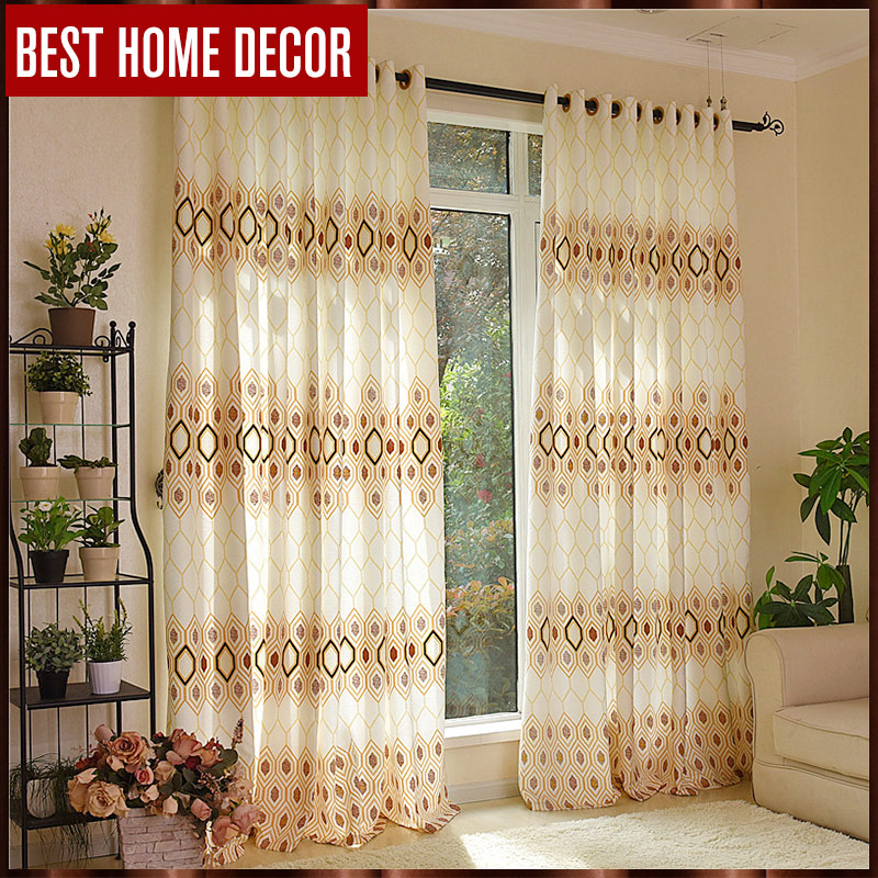 Buy Best Home Decor Finished Window Blackout Curtains For Living Room Bedroom
