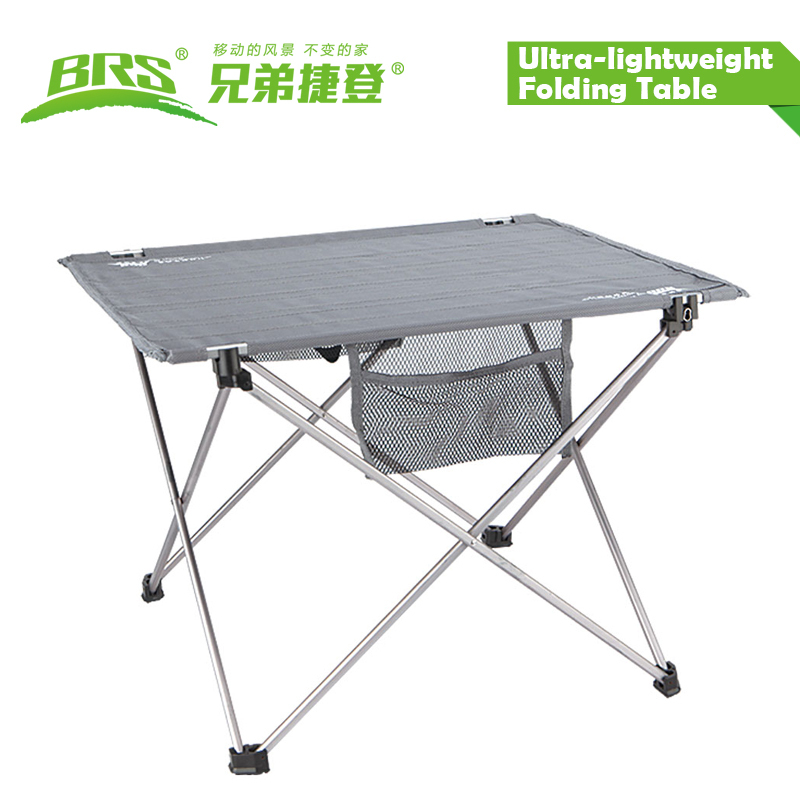 BRS-Z33 aluminium alloy lightweight folding outdoor camping table(China (Mainland))