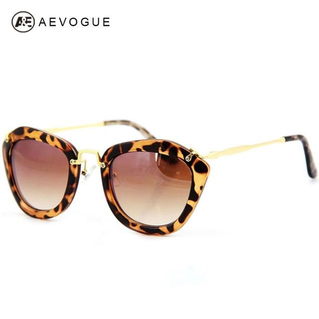 Aevogue дизайн роскошные мода солнцезащитные очки женщин наиболее популярные солнцезащитные очки завышение кадров gafas-де-сол UV400 AE0073