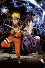 Naruto 1 —2016 Hot sale Japanese Anime Home Decor Scroll Paintings Art Canvas Wall Picture