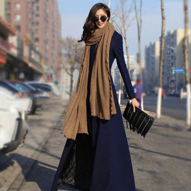 Плюс Размер S-2xl Новая Мода Женская Над Пальто Женщины Длинные Зимние Пальто Молния Отделимые Куртка Манто