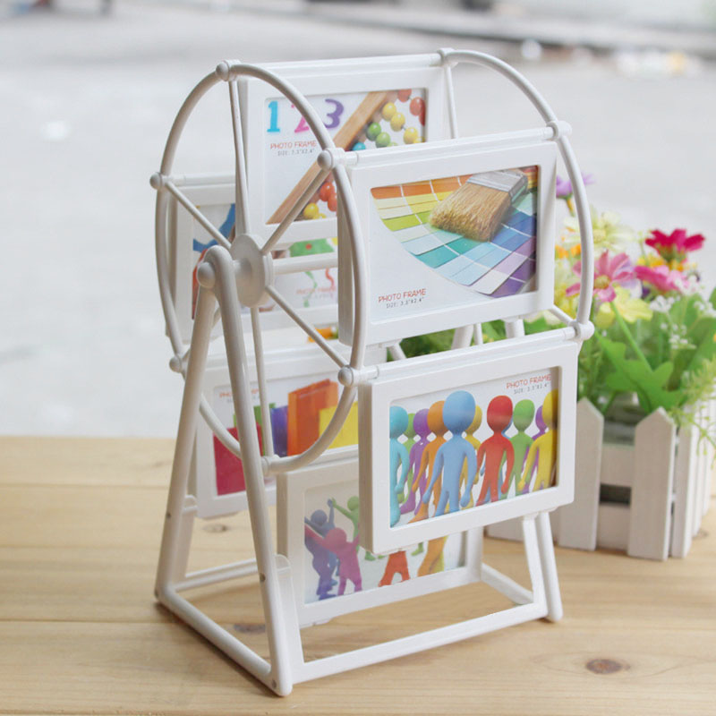 2016 Hot Sales Photo Frame European Windmill Frame 2 Inch Ferris Wheel Combination 12 Photos Free Shipping(China (Mainland))