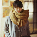 Fashion Autumn Winter Ladies Women Thick Knitted Double sided Scarf Warm Collar Muffler Scarf Shawl Wraps