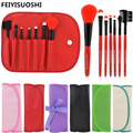 7 Pcs Beauty Make Up Brushes Pincel Maquiagem Professional Superior Soft Cosmetic Makeup Brush Set Kit