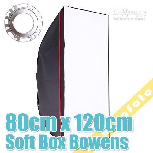Inno hot sales 32 inchx47 inch/80x120cm Photo Studio Softbox Bowens Mount PSCS21 NEW - LightupFoto store