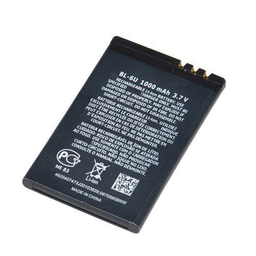 BL-6U mobile phone battery For Nokia 8820 8820E 8830E Cellular Cellphone battery 1000mah Free Shipping Wholesales 10pcs/lot