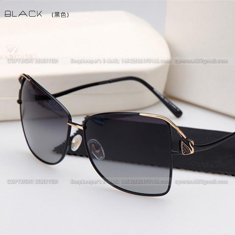 SG-009 women's polarized sunglasses Anti-UV Luxury Branded new models big plastic round frame Women - BEACH LIFE store