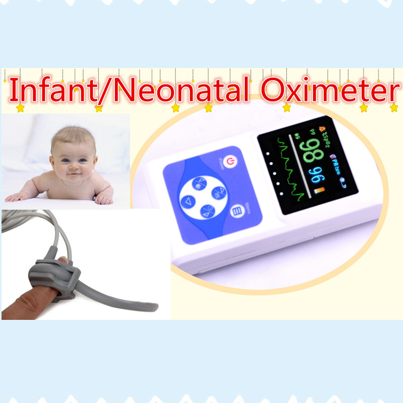 CE FDA Handheld Portable Pulse Oximeter Spo2 Pr Heart Rate Monitor Infant Oximeter USB Software New Pulse Ox(China (Mainland))