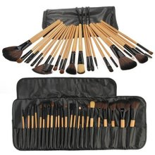 Best Sale 24 Brushes Professional Makeup Brushes Cosmetics Kit Makeup Set brushes tools makeup tools ; accessories(China (Mainland))