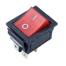 ラッチロッカースイッチの電源スイッチ I/O 4 ピン光 16A 250VAC 20A 125VAC KCD4(China)