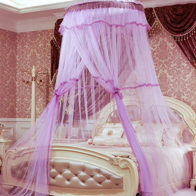 Online Get Cheap Luxury Canopy Bed Curtains Aliexpress