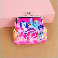 Kids cartoon Coin Purses my little pony Coin Purse kids wallet Children birthday present girls lovely gift