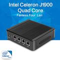 XCY Nuc no fan mini pc J1900 quad core 4 LAN Windows 7 8 8 1