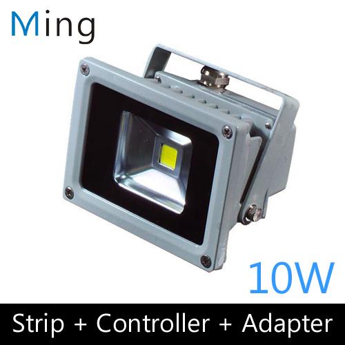 LED Flood Light, 10W, Multi-chip LED, Waterproof, IP65, AC85-265V<br><br>Aliexpress