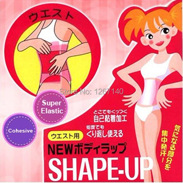 FREE SHIPPING-Sauna Waist Belt Tummy Body Shaper Belly Slimming Wrap Thigh Belt Lose Weight Super-elastic Material jkqud(China (Mainland))