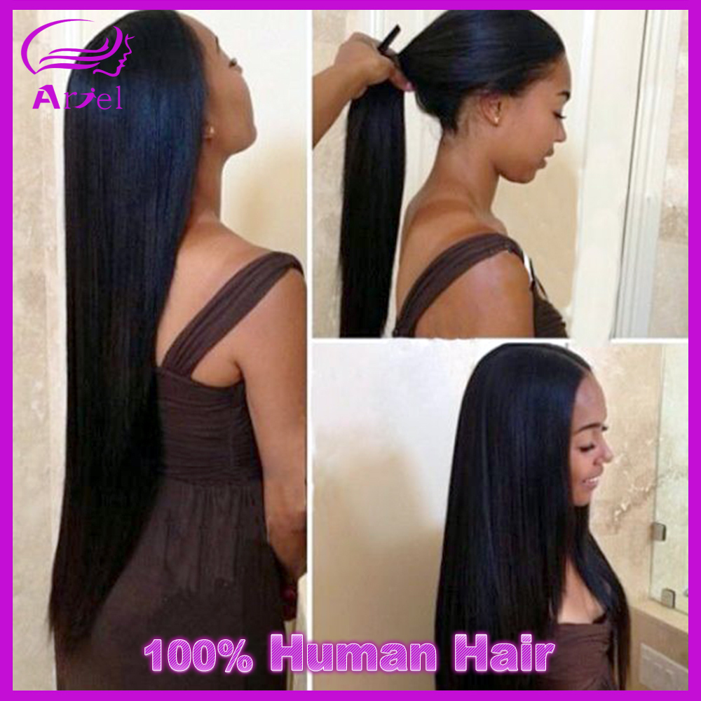 Гаджет  7a Malaysian Virgin Hair Straight 4 Bundles Rosa Hair Products Malaysian Straight Human Hair Weave Bundles Virgin Straight Hair None Волосы и аксессуары
