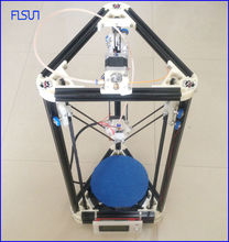 2016 new arrive high quality diy 3d printer delta kit with 40m filament masking tape 8GB