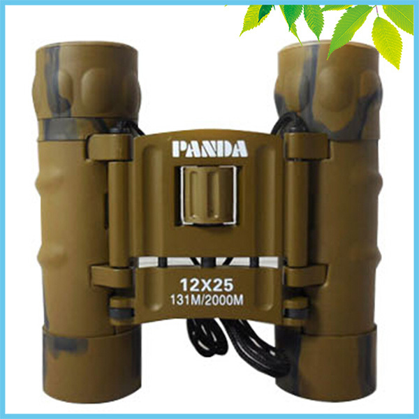 Free Shipping High quality  Camo 12x25mm  Compact Portable Foldable Binoculars Telescope 131m/2000m<br><br>Aliexpress