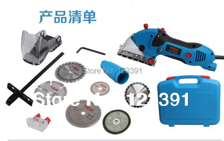 FREE SHIPPING  circular saw with 3 pcs circular saw blades for woodworking,metal and stone cutting<br><br>Aliexpress