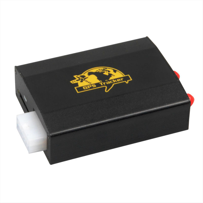 Dual SIM card /SD card slot car gps tracker tk103-2 with Free tracking software(China (Mainland))
