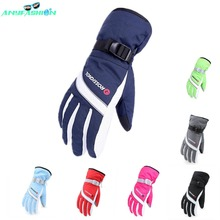 Winter Outdoor Sports Men Women Windproof waterproof Warm Cycling Ski Snow Snowmobile Motorcycle snowboard Skiing Gloves(China (Mainland))