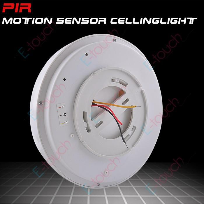 Купить Новый 220В 8 Вт белый свет пир инфракрасный датчик движения потолочный датчик расстояние Обнаружения 5-8 м (ET091)