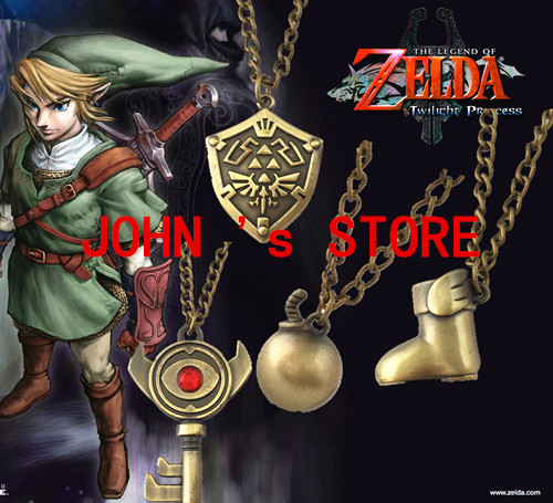 Freeshipping 20PC a lot The Legend of Zelda necklaces KDKM01<br><br>Aliexpress