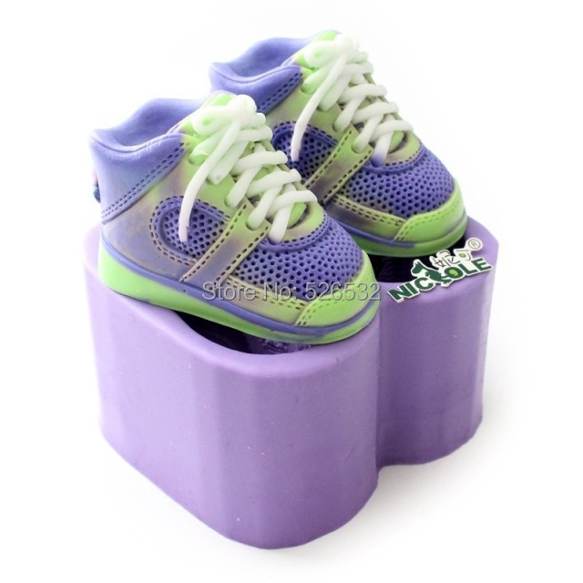 Cake Decorations Baby Shoes : mold candle Picture - More Detailed Picture about 3D ...