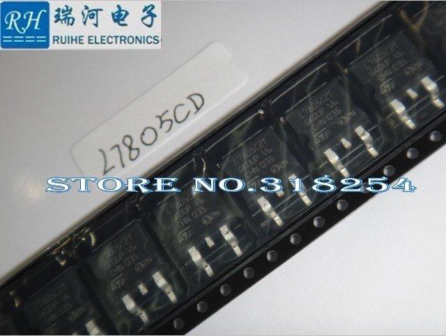 L7805CD2T-TR ST TO-263 1, Positive voltage regulators, new original 100% hot sales. - RUIHE ELECTRONICS (HK store CO., LIMITED)