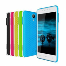 DOOGEE LEO DG280 4.5 Inch 854*480 MTK6582 1.3GHz Quad Core Smartphone 1GB RAM 8GB ROM Soft Dot Back Case Android 4.4.2