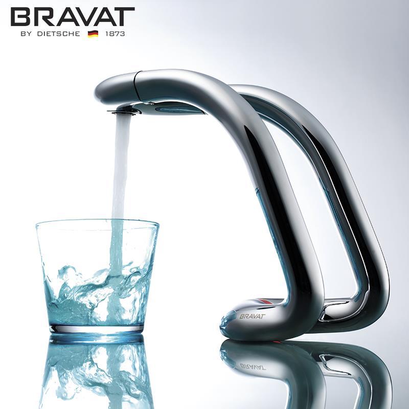 Bravat 2016 basin sense electronic faucets five hotel top for Top bathroom faucets 2016