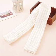 Женские вязаные сапоги; вязаные гетры; длинные носки; Polaina Feminina; зимний утеплитель для ног(China)
