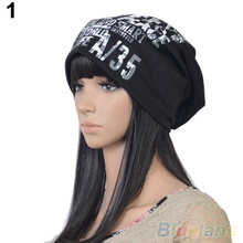 Women's Men's Unisex Fashion Letter Hip-hop Baggy Beanie Cotton Blend Sport Hat Cap 2KT5(China (Mainland))