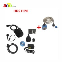 New V3.015.20 For Honda HDS HIM Diagnostic Tool with Double Board HDS HIM with Z-TEK USB1.1 To RS232 Convert Connector(China (Mainland))