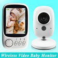 Baby Monitors video nanny 3 2 inch LCD Temperature monitor IR Night vision 2 way talk