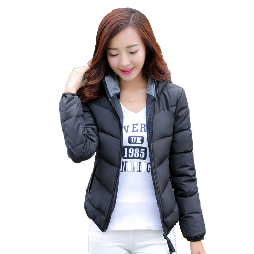2016 Winter Jacket Women Parka Thick Winter Outerwear Plus Size Down Coat Short Slim Design Cotton-padded Jackets And Coats(China (Mainland))