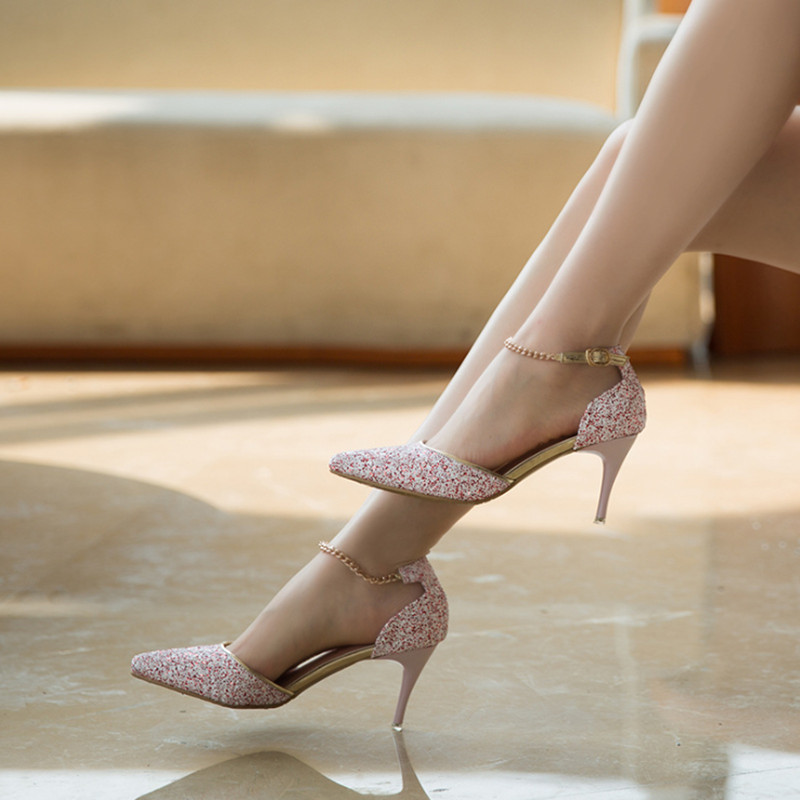 These shoes were made to walking on the stage. You will certainly be getting a lot of looks from men and women! These 6 inch heels come in various styles, from glitter to clear, from thick heel to stiletto heel.