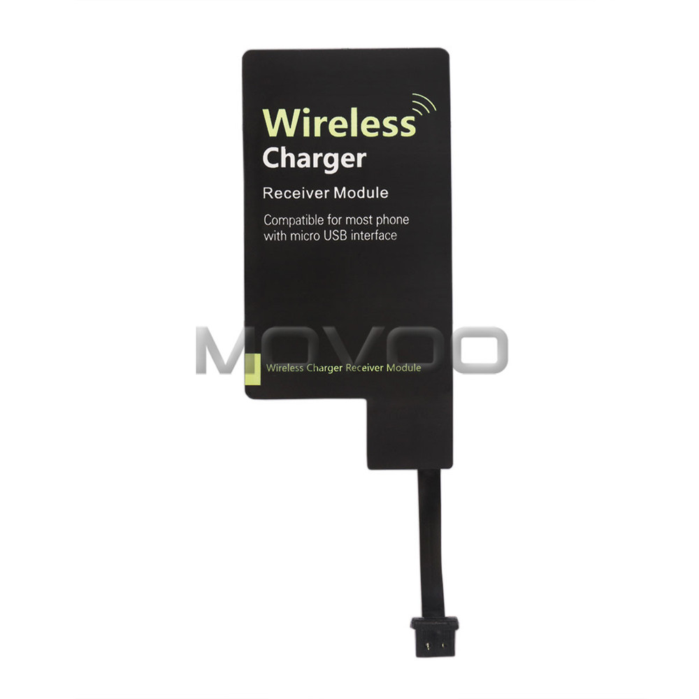 Qi Wireless Charger Adapter Adapter Bluetooth Mini Jack Oneplus 5 Usb C Adapter Kingston M 2 Pcie Adapter: Micro USB Charger QI Wireless Receiver Charging Adapter