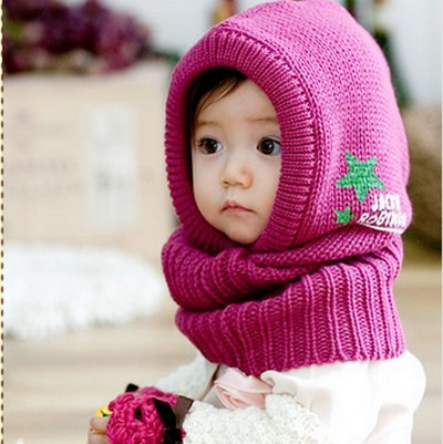 wholesale 5pcs/lot fashion baby hat winter bonnet letters crochet ...