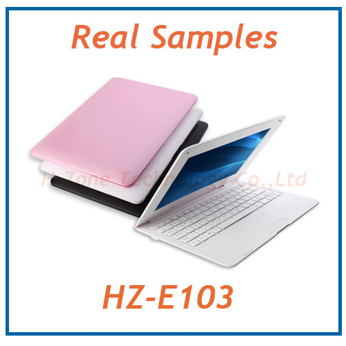 DHL/EMS Free Mini Laptop Android 4.2 Netbook 10 Inch TFT Screen 8GB ROM 1GB RAM Dual Core 1.5GHz With Webcam HDMI RJ45 USB Wifi(Hong Kong)