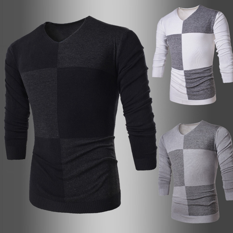 Hot Sale 2015 Men's Sweater V-neck Slim Spring&Aut...