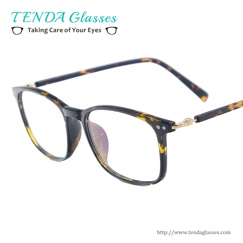 medium lightweight tr90 eyeglass frame men square full rim eyewear for multifocal prescription lenses