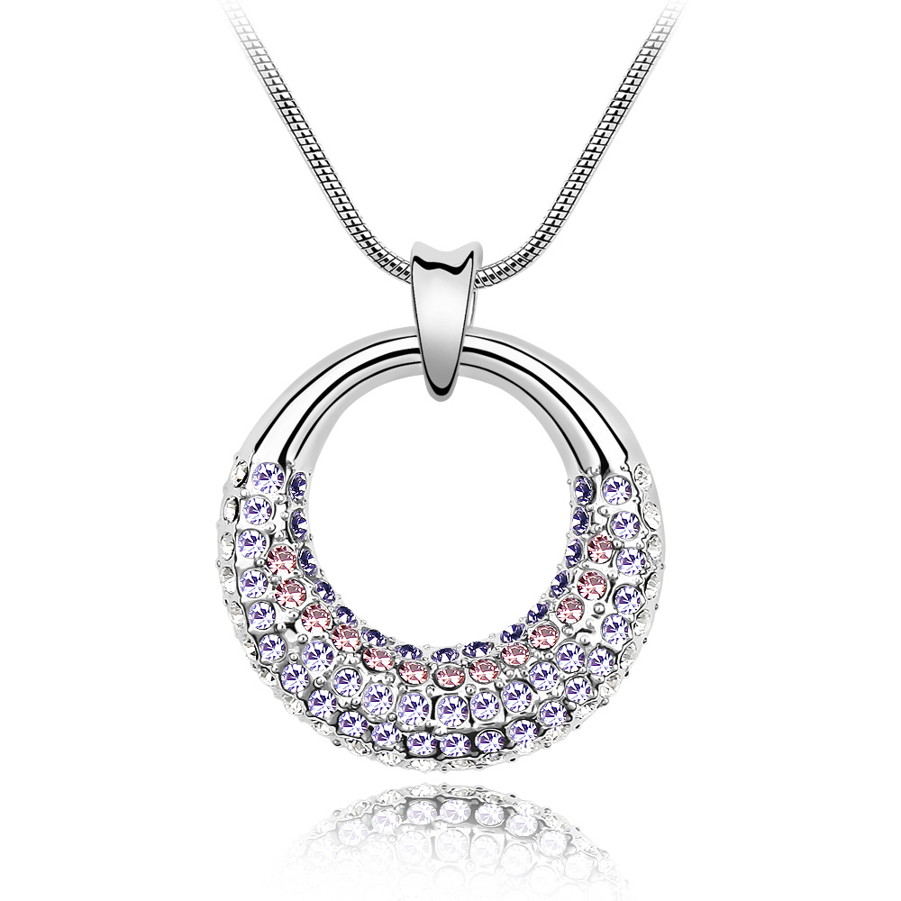 2016 Fashion Necklaces&Pendants Crystals From Swarovski For Women Party Accessories Mother's Day Gift(China (Mainland))