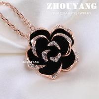 Серьги висячие Rose ZYE089 ZYE090