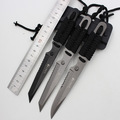 titanium coating 55HRC fixed blade survival colombia knives cs go gift 3Cr13 stainless steel outdoor camping