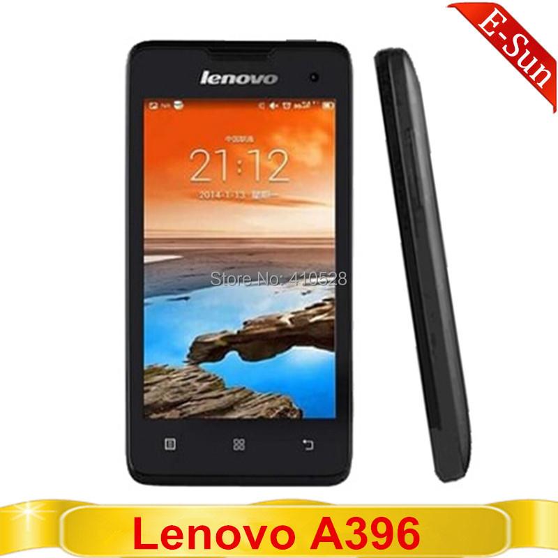 "Original Lenovo A396 Quad Core 1.2Ghz 4"" Screen 256MB RAM 512MB ROM 3G WCDMA 2.0MP Cameras Smart Mobile Phone Multi-language(China (Mainland))"