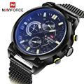 NAVIFORCE Top Luxury Brand Full Steel Men Watches Men s Quartz Hour Date Clock Male Sport