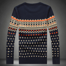 M-5XL Autumn winter pullover mens jumpers knitted sweater men brand 2016 stylish mens sweaters pull homme marque sweter hombre(China (Mainland))